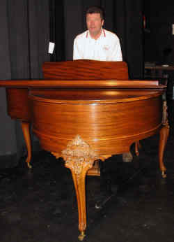 BAC Auction Grand Piano
